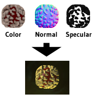 Normal mapped sprites, deferred shading
