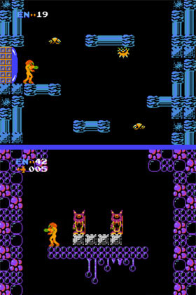 NES Metroid: Brinstar and Norfair